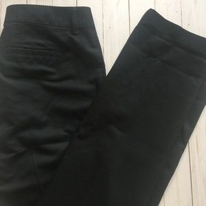 EDDIE BAUER Black Cotton Twill Mercer Fit Pants 8T